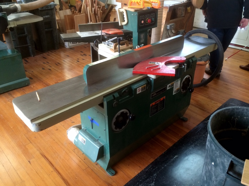 A big jointer.