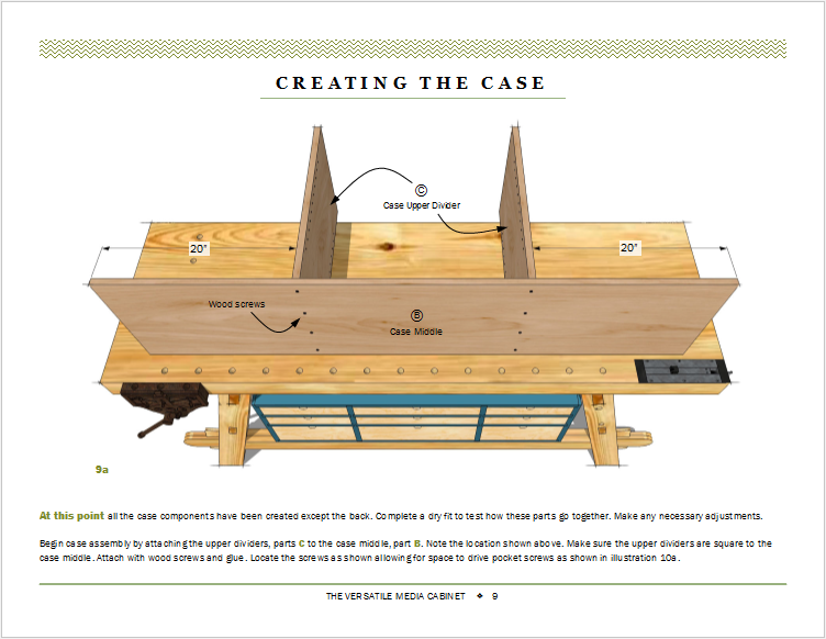 The workbench seen here is a Moravian style bench.