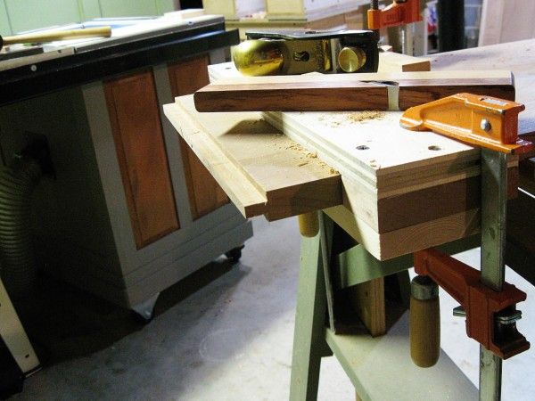The completed tenon.