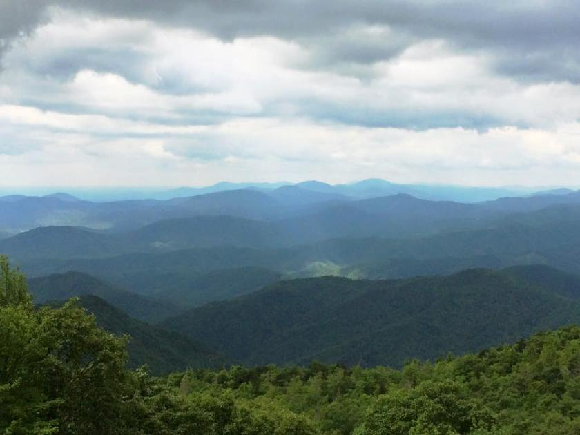 Blue Ridge Parkway - North of Asheville, NC