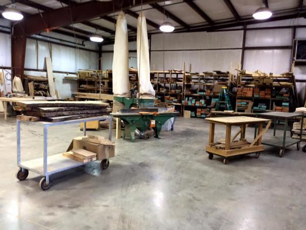 Brian Bogg's workshop. Gigantic.