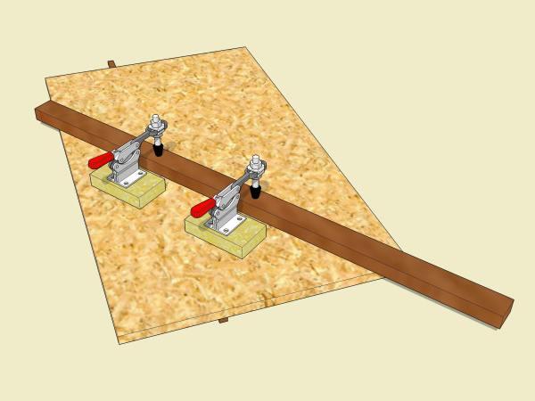 My steep angle sled design.