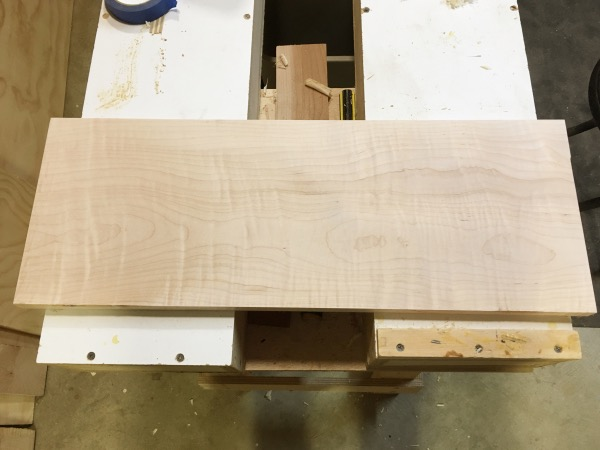 Some tasty curly maple.