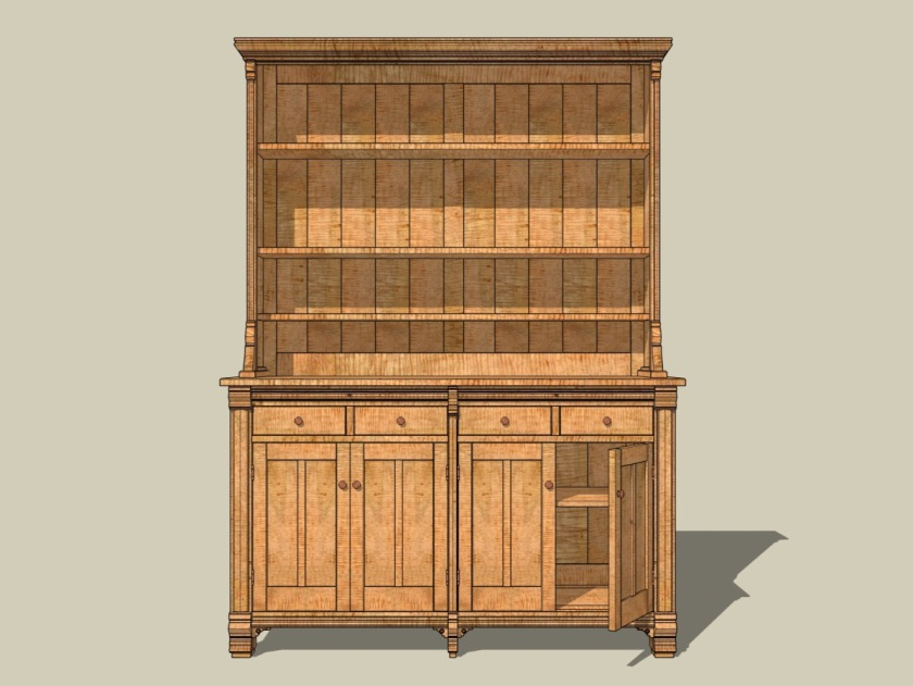 Ron Layport's Open Hutch.